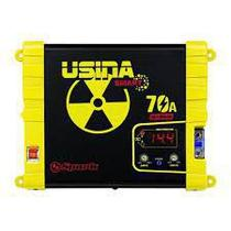 Fonte Carregador Automotiva Usina 70a Plus Battery Meter -