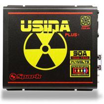 Fonte Carregador Automotiva Usina 90A Plus Battery Meter -