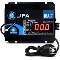 Fonte Carregador Automotivo JFA 10A  SCI  C/Display -
