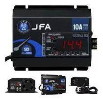 Fonte Carregador Automotivo JFA 10A SCI com Display -