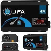 Fonte Carregador Automotivo JFA 200 A SCI Bivolt Automática -