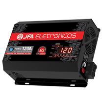 Fonte Carregador Bateria JFA 120A Bivolt Automatico Display -