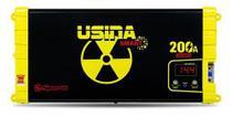 Fonte carregador bateria som spark usina smart 200a display -