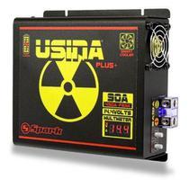 Fonte Carregador Bateria Usina Spark 90a Plus 12v Voltimetro -