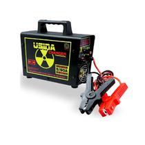 Fonte Carregador de Baterias Usina Charger 60a 14,4V Bivolt C/ Garra -