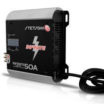 Fonte Carregador Digital Bateria Stetsom Infinite 50A -