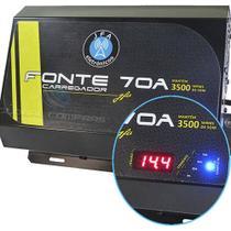 Fonte Carregador JFA Turbo 70 12,4-14,4V 70A Bivolt -