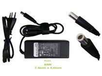 Fonte Carregador P/ Notebook Dell 19.5v 3.34a 65w Plug 7,5 mm x 5 mm Grosso de1508 - Não Informada