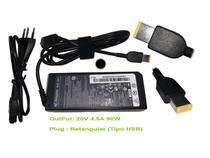 Fonte Carregador Para Notebook Lenovo G400s plug achatado Ib430 - NBC