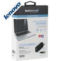 Fonte carregador para notebook lenovo pino quadrado 20v 3.25a 65w bivolt bb20-le20-a - Best Battery
