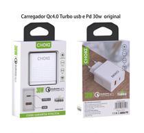 Fonte carregador USB-C 30W Choki iphone xr 11 12 12 pro max  power adapter -