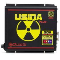 Fonte Carregadora Automotiva Spark Usina 90a Bater Meter Bi-Volt - Usina Spark
