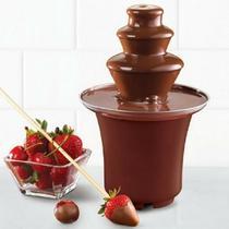 Fonte Cascata De Chocolate Fondue Chocofest Maquina Elétrica - Cosmo