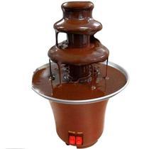 Fonte Cascata De Chocolate Fondue Chocofest Maquina Elétrica -