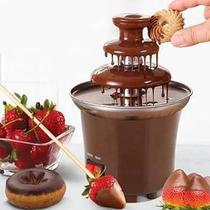 Fonte Cascata de Chocolate Fondue Máquina Elétrica 3 Andares Profissional 110v - Daybee