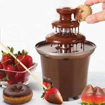 Fonte Cascata de Chocolate Fondue Máquina Elétrica 3 Andares Profissional 110v - Daymix