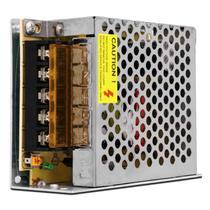 Fonte Chaveada Colmeia 12V 5A 60W Entrada Bivolt 127V 220V Alimentação Circuitos LED Som Automotivo - Prime