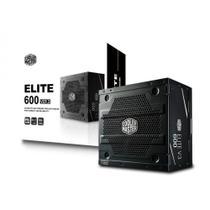 Fonte Cooler Master Elite V3 600W - Pfc ativo - MPW-6001-ACAAN1-WO -