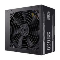 Fonte Cooler Master MWE 650W 80 Plus White MPE-6501-ACAAW-BR -