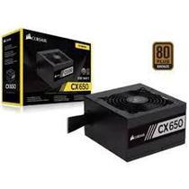 Fonte Corsair 650W 80 Plus Bronze CX650 - CP-9020122 -