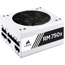 Fonte Corsair 750w Rmx White 80plus Gold Modular Atx12v Pfc -