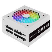 Fonte Corsair ATX 650W 80 Plus Bronze Full Modular CX-650F RGB White -