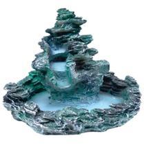 Fonte de água cascata 3 quedas com laguinho - Shop Everest