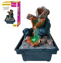 Fonte de agua decorativa Cachorros com luz 110v - Wincy - Pm