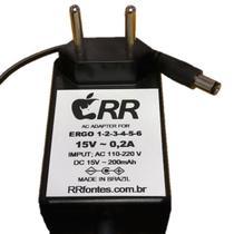 Fonte de alimentação 15V para aspirador de pó Eletrolux modelo Ergo 4 - Rrfontes