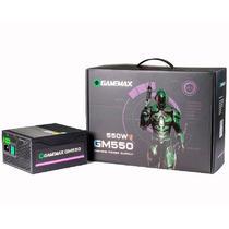Fonte de Alimentação 550W Box 80 Plus Bronze Com PFC Preta GM550 Gamemax -