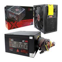 Fonte De Alimentação Atx 600w Real Gamer Computador Dmix AF-600 - Dex