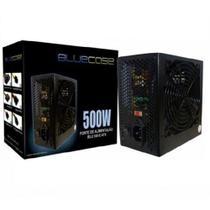 Fonte de Alimentação ATX BLU500-EATX 500W Box BlueCase com cabo -