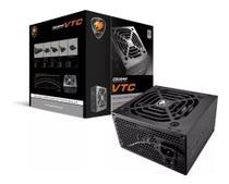 Fonte De Alimentação Cougar VTC500 31VC050006P01 80 Plus White 500W Preta -
