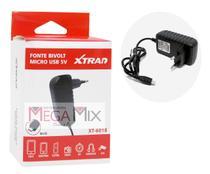 Fonte de Alimentação Micro USB V8 5V/3A XT-6018 - Xtrad