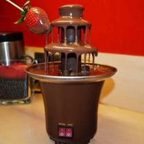 Fonte de Chocolate Cascata Máquina Fondue Profissional Festas Eventos 100v -