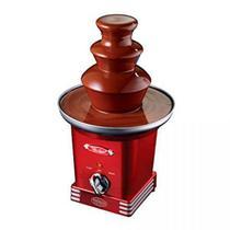 Fonte de Fondue Elétrica Nostalgia Retro, Vermelho, REF600, 40W, 110V -