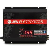 Fonte Digital Slim Jfa 50a Sci Bivolt Voltímetro Carregador -