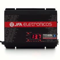 Fonte Digital Slim Jfa 60a Sci Bivolt Voltímetro Carregador -