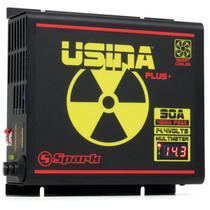 Fonte e Carregador de Bateria Usina 90A 12V -