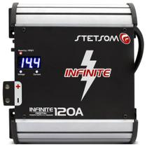 Fonte e Carregador Digital Stetsom Infinite 120A Bivolt com Display