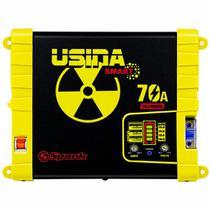 Fonte e Carregador Usina 70A Smart 12 Volts Battery Meter Bivolt -