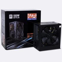 Fonte Gamer Atx 550W Real 80 Plus Pfc Ativo FP-550/80+ Tarct -