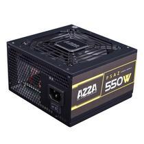 Fonte Gamer AZZA 550W 80 PLUS Bronze PFC ATIVO, PSAZ-550W -