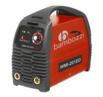 Fonte inversora de solda 200a bivolt - wmi 201 ed - bambozzi -