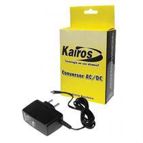 Fonte Kairos P/ Roteador Wireless e Modem D-Link 2640B 12V 1A RMD1210 -