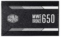 Fonte mwe  650w -  80 plus bronze - mpx-6501-acaab-wo - Cooler master