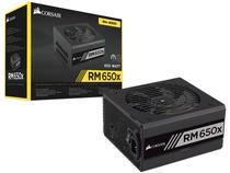 Fonte para PC 650W ATX Corsair RM650x com Cabo -