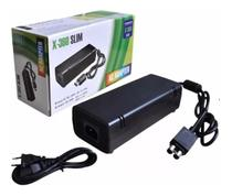Fonte Para Xbox 2 Pinos X360 Slim Bivolt 100% Compatível - Vixxer