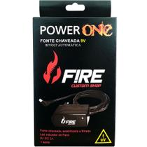 Fonte Power One 9V Fire Custom Shop