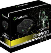 Fonte Semi-modular 600w Gm600 80 Plus Bronze 2-eps Gamemax -